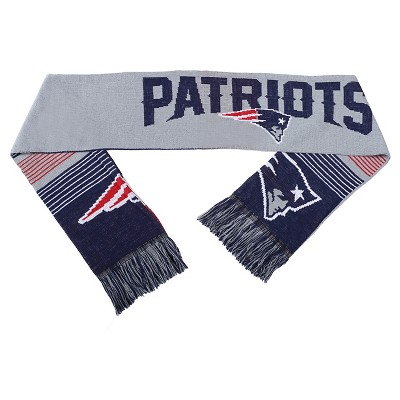 Forever Collectibles - NFL Reversible Split Logo Scarf New England Patriots