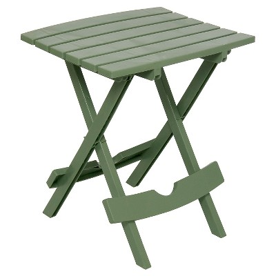 Adams Quick Fold Side Table - Sage