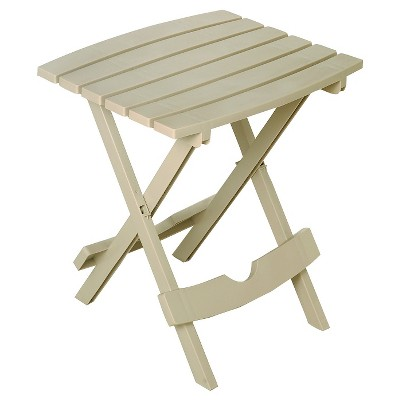 Adams Quick Fold Side Table - Desert Clay