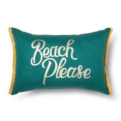Decorative Pillow Blue