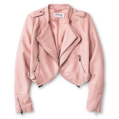 CoffeeShop Kids Girls' Faux Leather Jacket - Pink