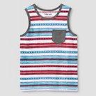 Toddler Boys' Stripe Tank Top - 2T - Cherokee®