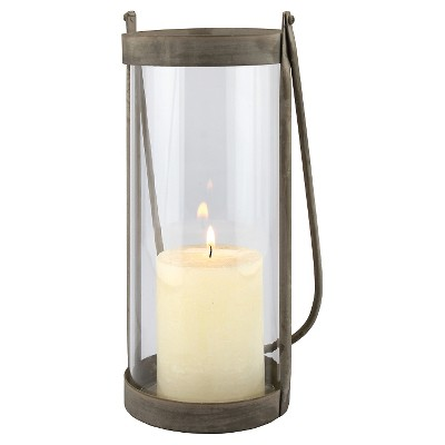 Medium Rustic Metal Hurricane Lantern
