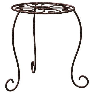 "Panacea 15"" Plant Stand - Rust"