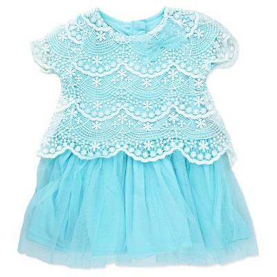 A Line Dresses White Nannette Baby 0-3 M