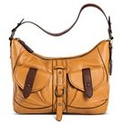 Born Women's Leather Hobo Handbag - Brown