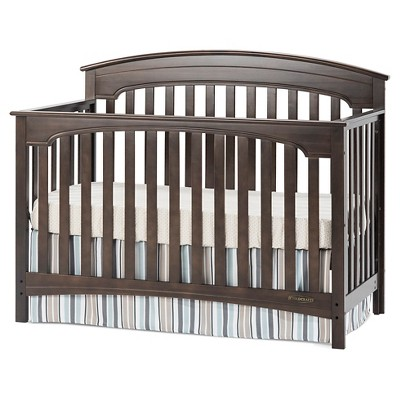 Child Craft Standford 4-in-1 Convertible Crib - Slate