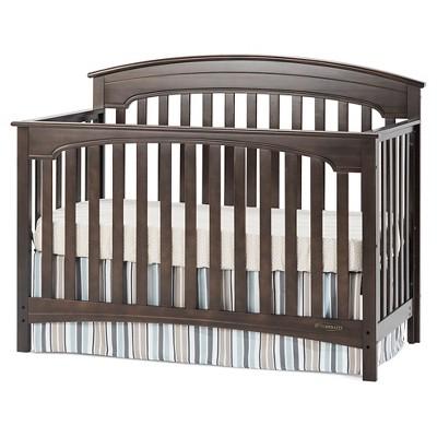 Child Craft Standford 4-in-1 Convertible Crib - Slate