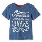 Toddler Boys' T-Shirt - Metallic Blue 2T - Genuine Kids™ from OshKosh®
