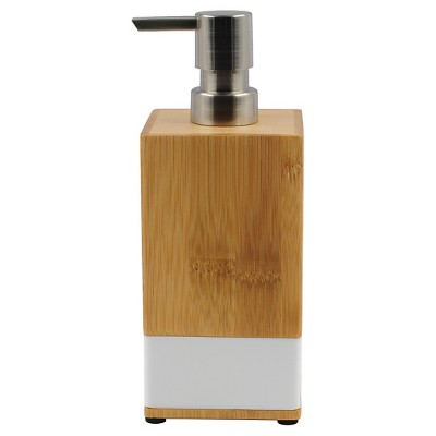 Room Essentials™ Soft Bamboo Soap Pump - White