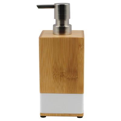 Room Essentials™ Soft Bamboo Soap Pump - White