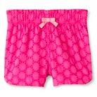 Toddler Girls' Eyelet Short Pink 6 - Cherokee®