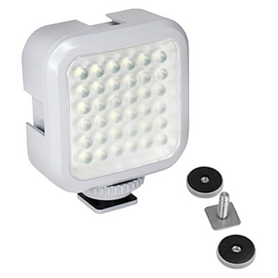 XSories GoPro Xshine Compact Rechargeable LED Camera Light with Hotshoe Mount