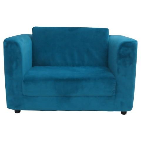 Sandy Kids Sleeper Chair Bayou Blue Fox Hill T Tar