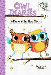 Eva and the New Owl ( Owl Diaries) (Hardcover)