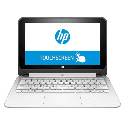 HP P4C44UA_ABA 1x360 Notebook with Intel Celeron N2840 Dual-Core Processor - Black/ White