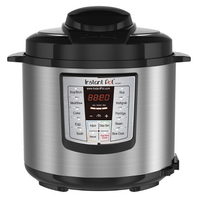 Instant Pot 6-in-1 Pressure Cooker 6 qt - Stainless Steel