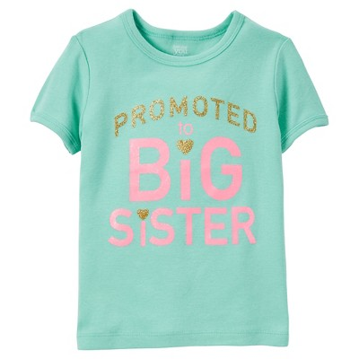 Just One You™Made by Carter's® Toddler Girls' T-Shirt – Mint & Pink 2T