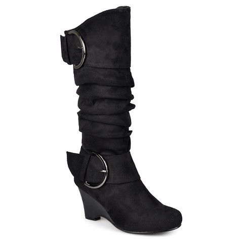 s journee collection irene 1 slouch wedge target