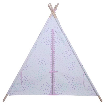 Pom Pom Teepee - Purple/Mint - Pillowfort™