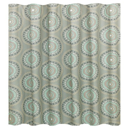 Room EssentialsTM Medallion Shower Curtain