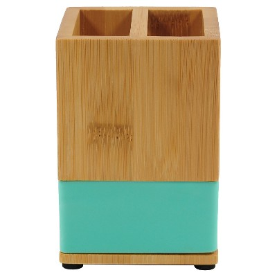 Bamboo Toothbrush Holder - Green - Room Essentials™