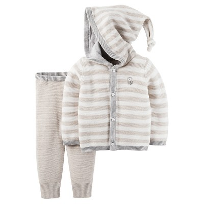 Just One You™Made by Carter's® Newborn 2 Piece Sweater Set – Cream 6M