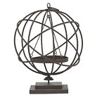 """Three Hands Metal Candle Holder (19.25"""")"""
