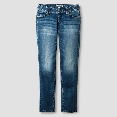Girls' Skinny Jean Cat & Jack™ - Medium Wash 6X