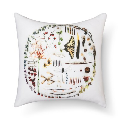"Circle Of Life Decorative Pillow 18""X18"" Multicolor - Still By Mary Jo™"