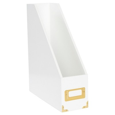 Sugar Paper® Magazine File Holder - White