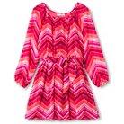 Girls' Lots of Love Shirt Dress - Coral Pink 7