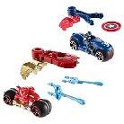 Hot Wheels Marvel Captain America: Civil War Captain America vs. Iron Man Moto 2-Pack