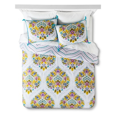 Indie Flower Comforter Set - Boho Boutique™