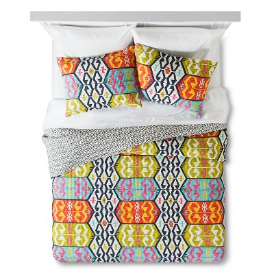 Zorada Quilt Set Full/Queen Multicolored - homthreads™