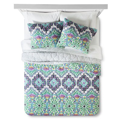 Feelin' Groovy Quilt Set King - Multicolor - Boho Boutique™