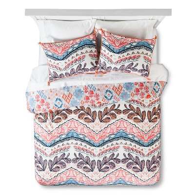 Boho Warrior Duvet Cover Set  Full/Queen - Multicolor - Boho Boutique™