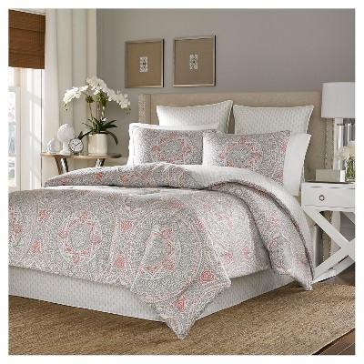 Comforter Set Eddie Bauer QUEEN White