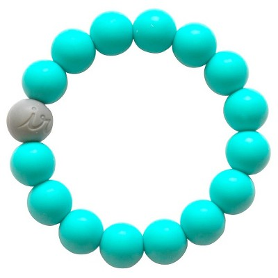 Itzy Ritzy Teething Happens™ Bead Bracelet Turquoise