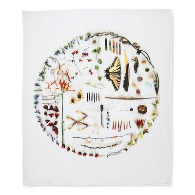 "Still Circle Tapestry - Multi-Colored (68x80"" )"