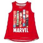 Girls' Marvel Tank - Red S (6-6X)