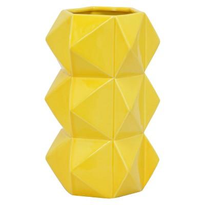 Vase Three Hands Ceramic 11.75in
