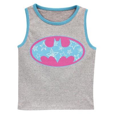 Baby Girls' Batgirl Tank Top Grey - 12M