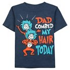 Toddler Boys' Dr. Seuss Tee Shirt - Navy Heather 3T