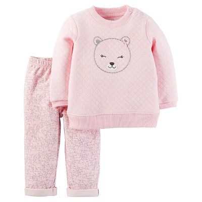 Just One You™Made by Carter's® Newborn Girls' 2 Piece Set – Pink 3M