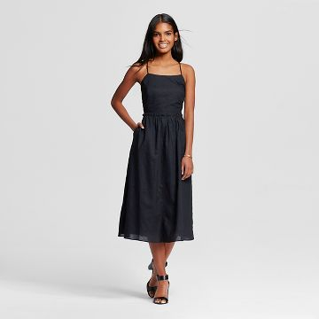 Black Cotton Dress : Target