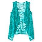 Girls' Sweater Vest Green L - Xhilaration™