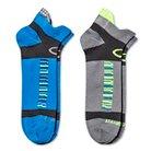 C9 Champion® Men's 2Pack Heelshield Compression Running Socks - Multi-Colored 6-12