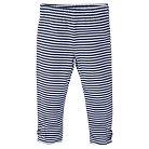 Gerber® Toddler Girls' Stripe Legging Pant - Blue 18 M