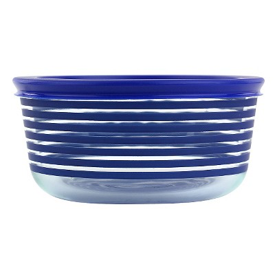 Pyrex 4 Cup Storage Plus Round Storage - Blue Lane